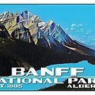 Banff National Park Alberta Canada Peyto Lake  by MyHandmadeSigns
