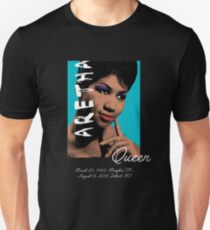 Aretha Queen of Soul RIP Unisex T-Shirt