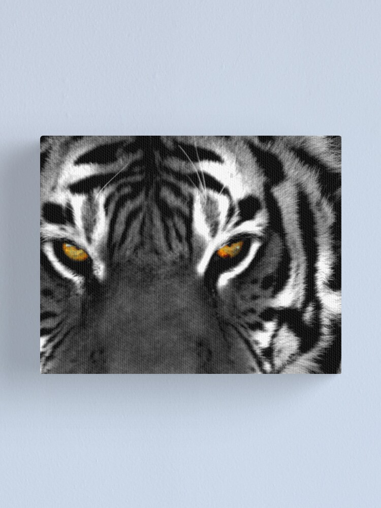 Alternate view of Tiger Eyes I Canvas Print