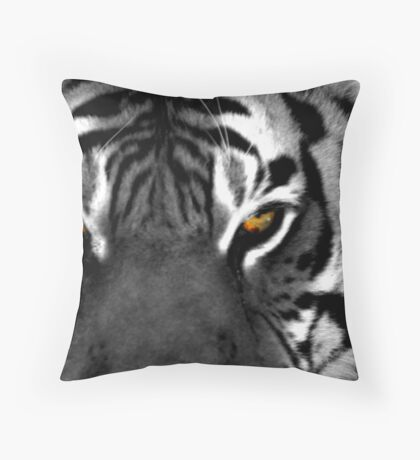 Tiger Eyes I Throw Pillow