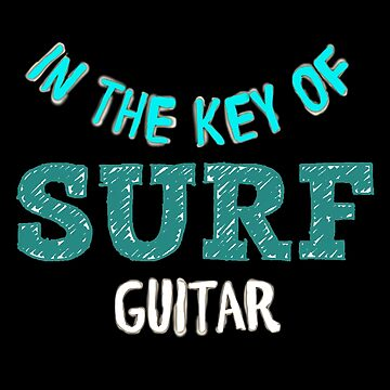 SURF GUITAR by Matterotica