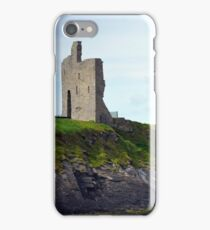 ballybunion castle on the cliffs of a beautiful beach iPhone Case/Skin