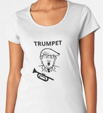 Trumpet Women's Premium T-Shirt