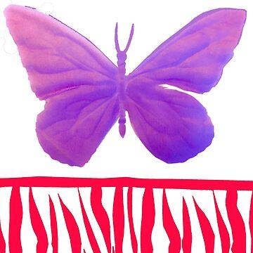 Purple Butterfly by waldomalan