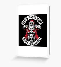 Sons of Anarchy - Biker Santa Greeting Card
