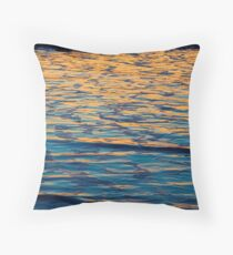 Autumn leaves made of water  Throw Pillow