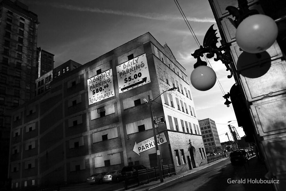 Cleveland - Light bulb by Gerald Holubowicz