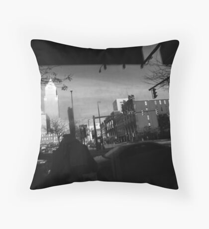 Cleveland - Reflections  Throw Pillow