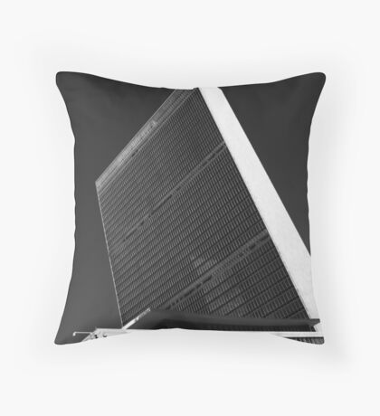 The White Monolith of Peace Throw Pillow