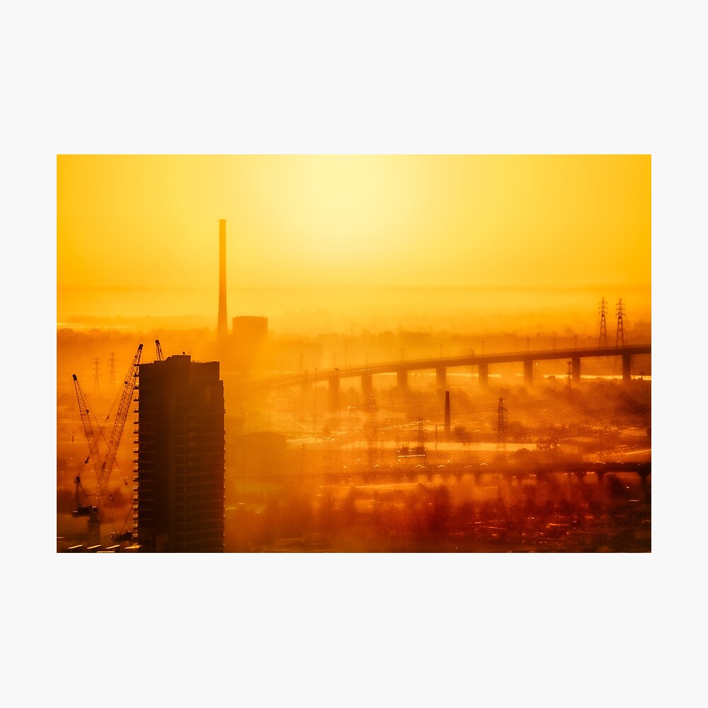 Hot in the City Photographic Print
