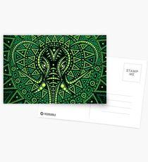 Green Elephant Postcards