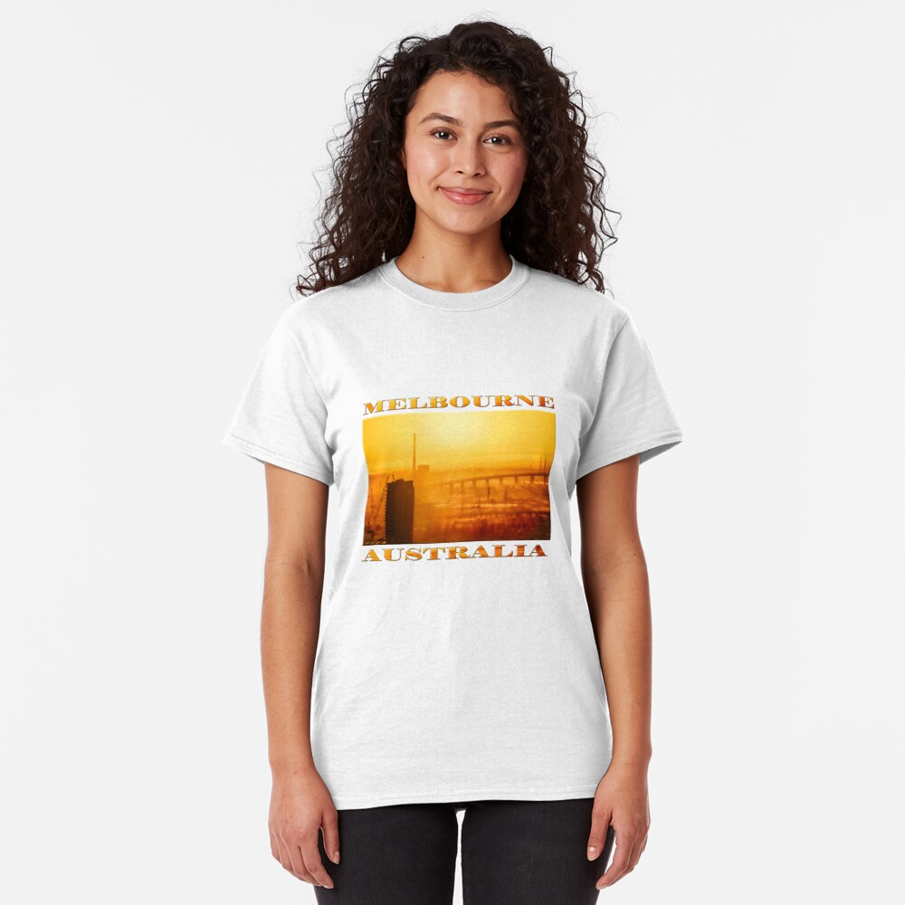 Hot in the City (poster on white) Classic T-Shirt