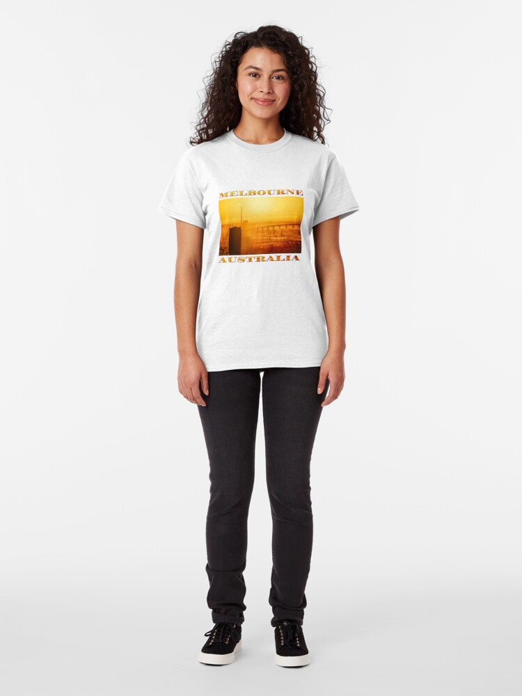 Alternate view of Hot in the City (poster on white) Classic T-Shirt