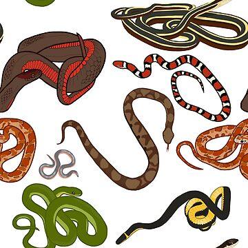 North Carolina Snake Pattern by wildlifeandlove