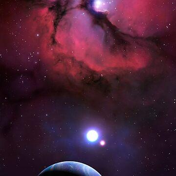Trifid Nebula by magarlick