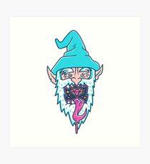 Wizard Breath Again? Art Print