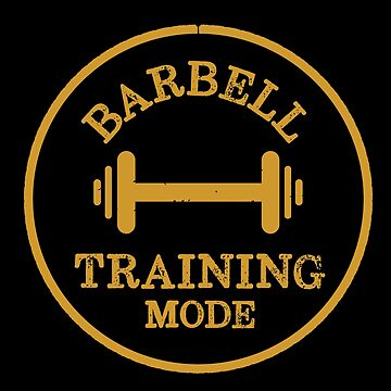 Barbell Training Mode Retro Workout  by happinessinatee