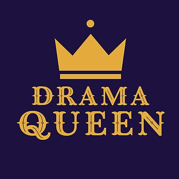 Classy Retro Drama Queen Crown by happinessinatee