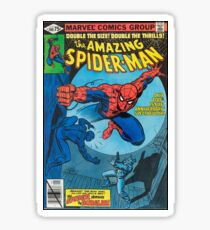 Spiderman Comic Sticker