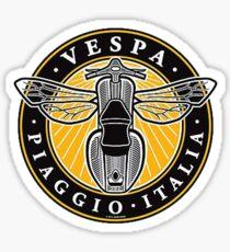 Vespa piaggio italia Sticker
