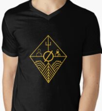 Trench Concept Art Men's V-Neck T-Shirt