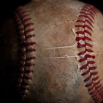 Baseball Closeup by photogeneic