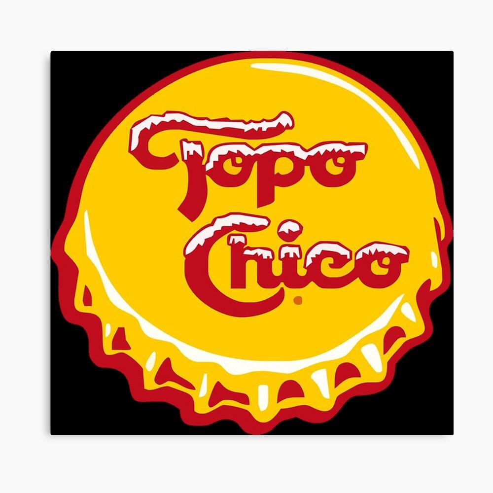 Topo Chico Leinwanddruck