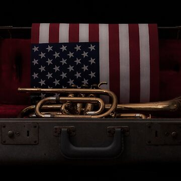 Trumpet and Flag by photogeneic