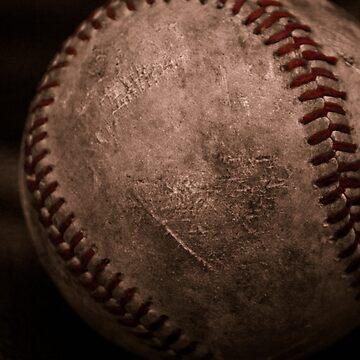 Baseball Cradled by photogeneic