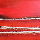 Fields of Fire II - Diptych by Kathie Nichols