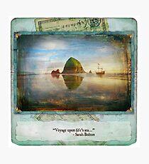 The Dream Traveler Foxfires Calendar - December Photographic Print