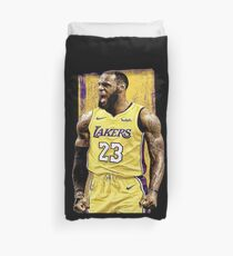 Lebron James Lakers Duvet Cover