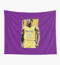 Lebron James Lakers Wall Tapestry 10d43a620