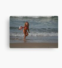 Childs Play at the Beach (Part 2) Canvas Print