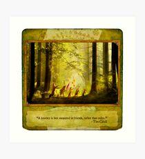 2010 Foxfires Calendar - August Art Print