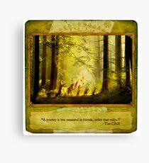 2010 Foxfires Calendar - August Canvas Print