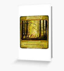 2010 Foxfires Calendar - August Greeting Card