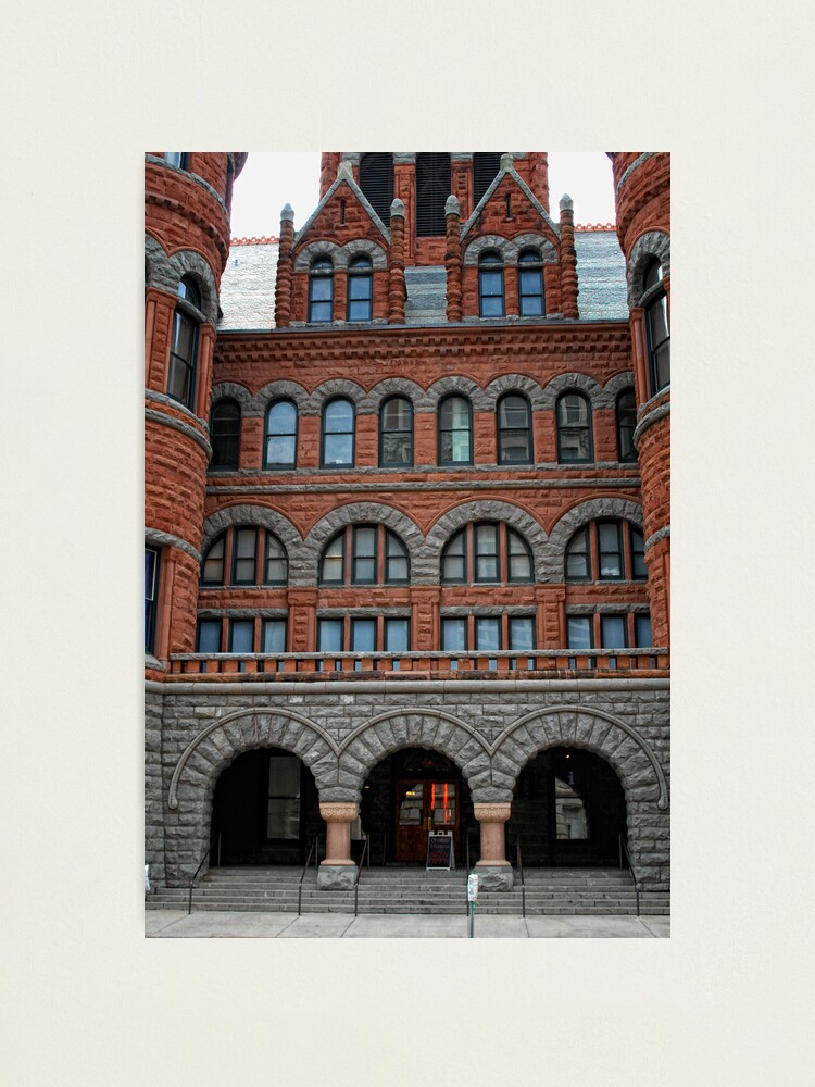 Alternate view of Old Red Courthouse Photographic Print