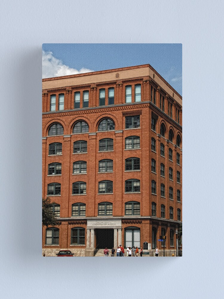 Alternate view of Texas School Book Depository Canvas Print