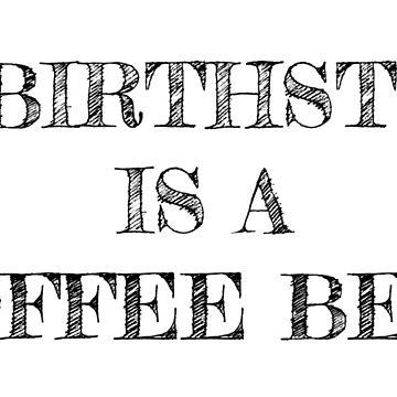 Coffee Bean Birthstone by ErinJain