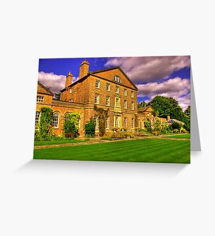 Sutton Park Hall (Rear) Greeting Card