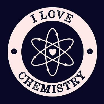 I Love Chemistry Retro Vintage by happinessinatee
