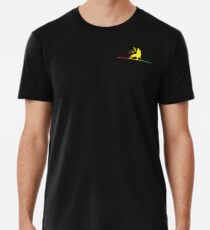 Reggae Rasta Roots Vibes Men's Premium T-Shirt