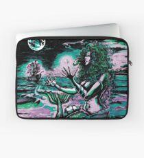 Mermaid Siren Sea Pearl Atlantis Laptop Sleeve