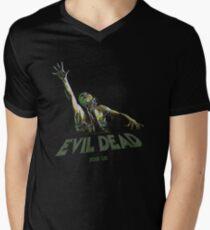 Evil Dead - Choke Join Us Men's V-Neck T-Shirt