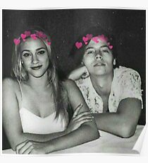 Cole Sprouse et Lili Reinhart Poster