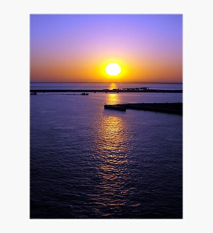 Sunrise in Cadiz Photographic Print