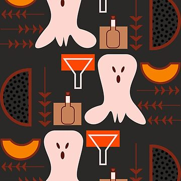 Retro spooky pattern by cocodes