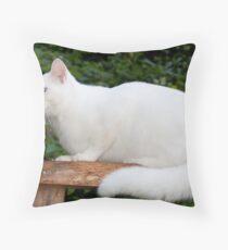 Casper Maxwell Snow Throw Pillow