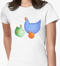 French Hens t-shirt Womens Fitted T-Shirt
